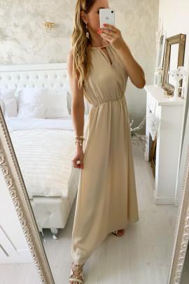 Šaty Kamila béžové