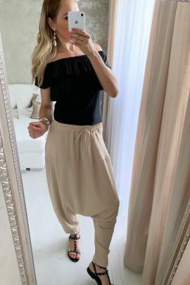 Nohavice Ingrid béžové