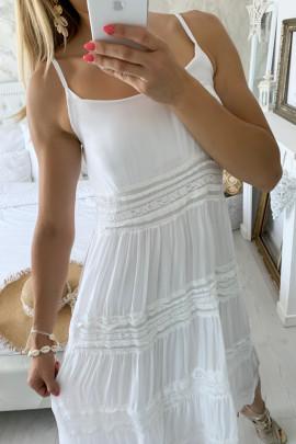 Šaty Verona biele