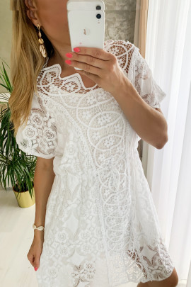 Šaty Diona biele