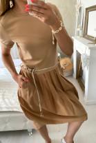 Šaty MIMI hnedé