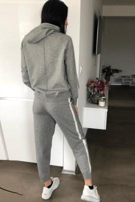 Komplet Adriana sivý