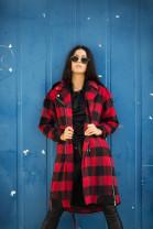 Kabát Baška červený