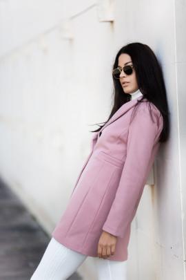 Kabát Filipa ružový