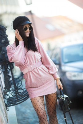 Šaty LEILA ružové