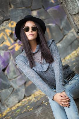 Pulover ELIS šedý