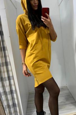 Šaty  ELISA žlté