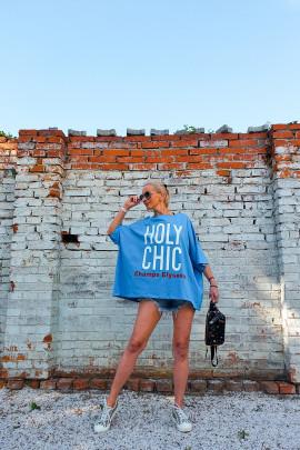 Tunika HOLY modrá