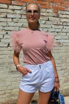 Tričko LUNY ružové