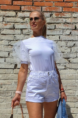 Tričko LUNA biele