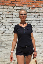Tričko LINA čierne