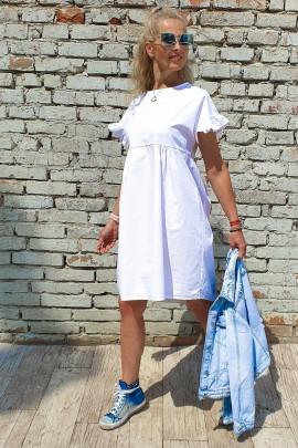 Šaty Alma biele