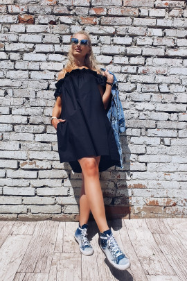 Šaty Aida čierne