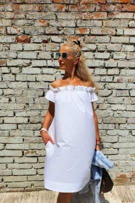 Šaty Aida biele