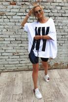 Tričko NY biele