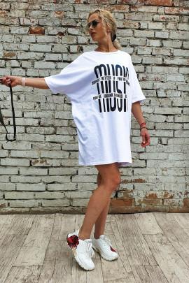 Šaty Music biele