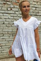 Šaty Elia biele