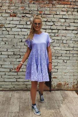 Šaty Lívia fialkové