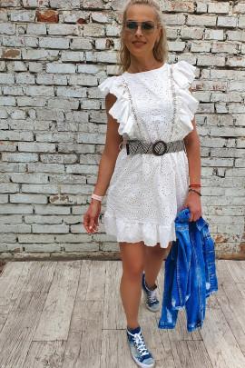 Šaty Eleonora biele