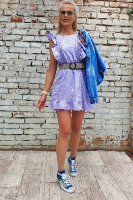 Šaty Eleonora fialové