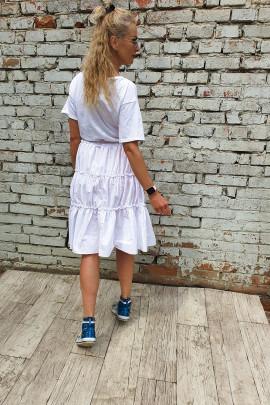 Šaty Ines biele