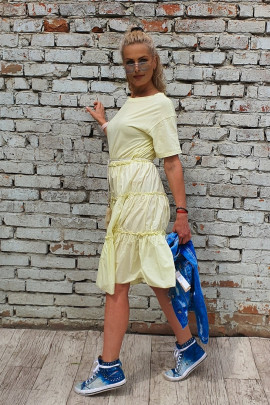 Šaty Ines žlté