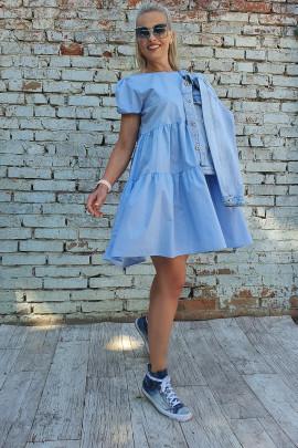 Šaty Antonela modré