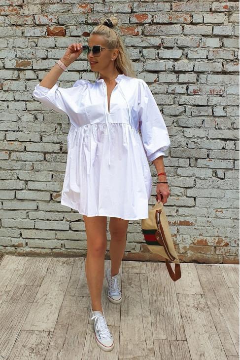 Šaty Dante biele