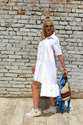 Šaty Sergio biele