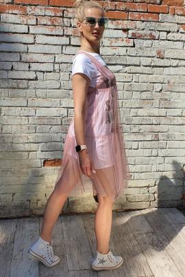 Šaty Lui ružové