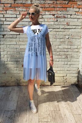 Šaty Lui modré