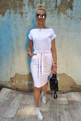 Šaty Cilla biele