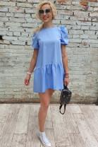 Šaty Aurora modré
