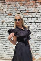 Košeľa Agata čierna