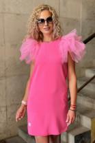 Šaty Boa ružové