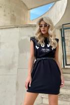 Šaty LOVE čierne