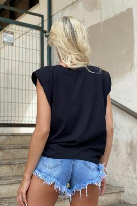 Tričko Limited čierne