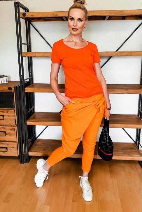 tepláky oranž.