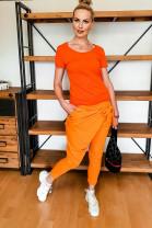 Tepláky Uzol oranžové