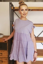 Šaty Delfin fialové