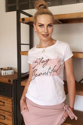 Tričko Bell ružové