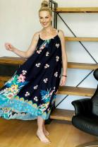 Šaty Romolo modré