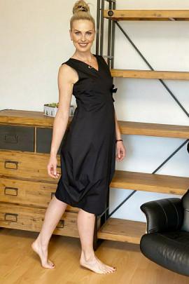 Šaty Pompeo čierne