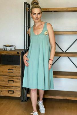 Šaty Oreste zelené