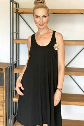 Šaty Oreste čierne