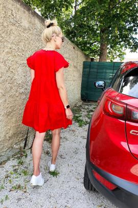 Šaty Marisa  červené