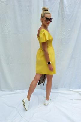 Šaty Giselle žlté