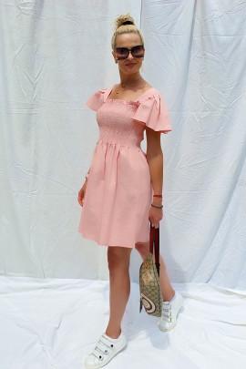 Šaty Giselle ružové