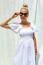 Šaty Giselle biele