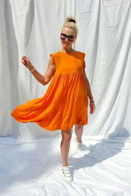 Šaty Apola oranžové